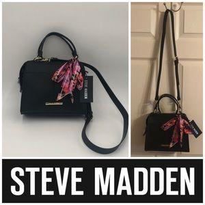 Steve Madden Breese Satchel Crossbody Bag Purse
